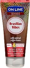 Düfte, Parfümerie und Kosmetik Glättendes Körperpeeling - On Line Senses Body Scrub Brasilian Vibes
