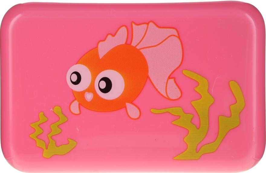 Kinder-Seifendose 6024 rosa mit Fischlein - Donegal