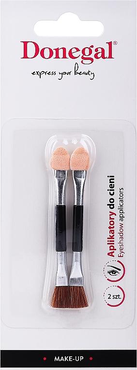 Lidschatten-Applikatoren mit Pinsel 2 St. - Donegal Eyeshadow Brush — Bild N1