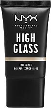 Düfte, Parfümerie und Kosmetik Gesichtsprimer - NYX Professional Makeup High Glass Face Primer