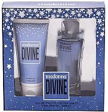 Düfte, Parfümerie und Kosmetik Madonna Divine - Duftset (Eau de Toilette 50ml + Duschgel 100ml)