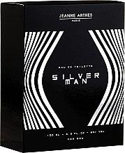 Düfte, Parfümerie und Kosmetik Jeanne Arthes Silver Man - Eau de Toilette