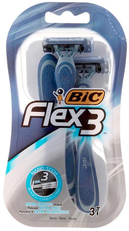 Einwegrasierer Flex 3 3 St. - Bic Flex 3 — Bild N1