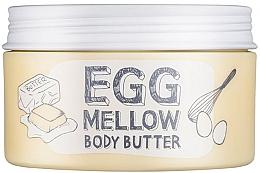 Düfte, Parfümerie und Kosmetik Feuchtigkeitsspendende Körperbutter mit Sheabutter, Eigelb- und Eiweiß-Extrakt - Too Cool For School Egg Mellow Body Butter