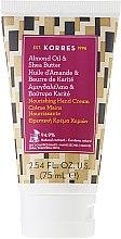 Düfte, Parfümerie und Kosmetik Pflegende Handcreme - Korres Almond Oil & Shea Butter Nourishing Hand Cream
