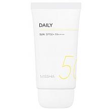 Düfte, Parfümerie und Kosmetik Sonnenschutzcreme für den Körper SPF 50+ - Missha All Around Safe Block Daily Sun SPF50+/PA++++