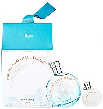 Düfte, Parfümerie und Kosmetik Hermes Eau des Merveilles Bleue - Duftset (Eau de Toilette 50ml + Eau de Toilette 7.5ml)