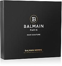 Düfte, Parfümerie und Kosmetik Haarpflegeset - Balmain Signature Men's Giftset (Bartöl 30ml + Haarshampoo 200ml + Kopfhautpeeling 100g + Bartkamm 1 St.)