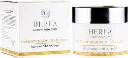 Düfte, Parfümerie und Kosmetik Reparierende Körpermaske mit Ginkgo und weißer Maulbeere - Herla Luxury Body Care Gingko Biloba & White Mulberry Body Mask