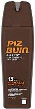 Düfte, Parfümerie und Kosmetik Sonnenschutz Körperspray - Piz Buin Allergy Sun Sensitive Skin Spray SPF15