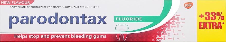 Zahnpasta mit Fluoride gegen Zahnfleischbluten - Parodontax F — Bild N5