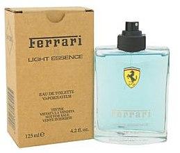 Düfte, Parfümerie und Kosmetik Ferrari Light Essence - Eau de Toilette (Tester ohne Deckel)