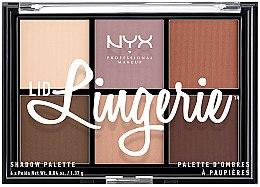 Düfte, Parfümerie und Kosmetik Lidschattenpalette - NYX Professional Makeup Lingerie Shadow Palette