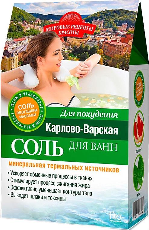 Regenerierendes Detox Badesalz zum Abnehmen - Fito Kosmetik