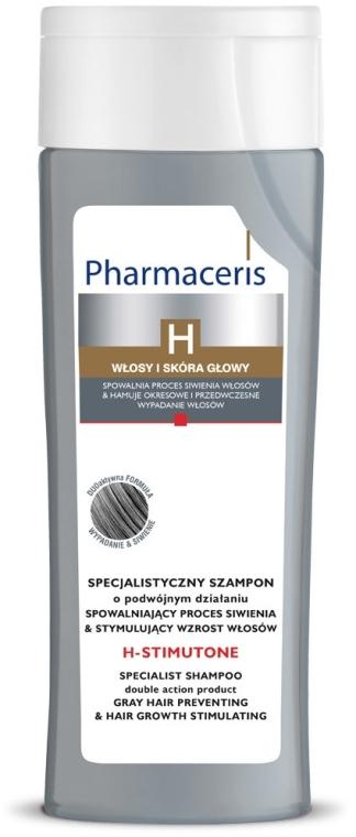 Haarwachstum stimulierendes Shampoo für graues Haar - Pharmaceris H-Stimutone Specialist Shampoo Gray Hair Preventing & Hair Growth Stimulating