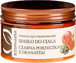 Düfte, Parfümerie und Kosmetik Körperbutter mit schwarzen Johannisbeeren und Granatapfel - Bosphaera