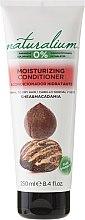 Düfte, Parfümerie und Kosmetik Pflegende Haarspülung mit Sheabutter und Macadamia - Naturalium Conditioner Karite and Macadamia