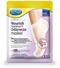 Düfte, Parfümerie und Kosmetik Pflegende und entspannende Fußmaske mit Lavendelöl - Scholl Expert Care Foot Mask