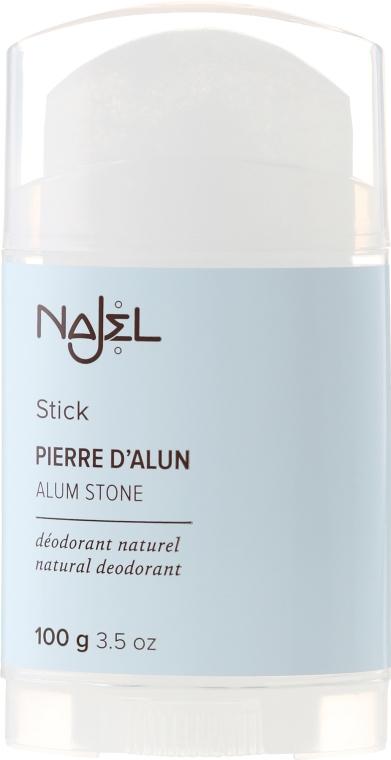 Natürlicher Deostick Alaunstein - Najel Alumstone Deodorant Stick