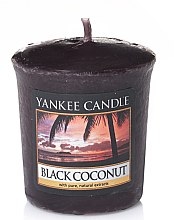 "Düfte, Parfümerie und Kosmetik Duftkerze ""Black Coconut"" - Yankee Candle Scented Votive Black Coconut"