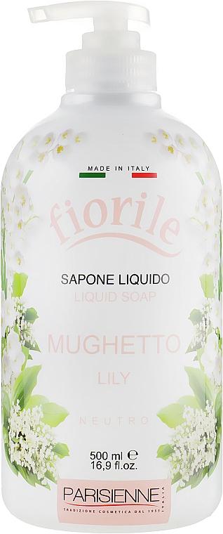 Flüssigseife mit Maiglöckchenduft - Parisienne Italia Fiorile Lily Liquid Soap