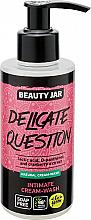 Düfte, Parfümerie und Kosmetik Creme-Gel für die Intimhygiene mit Preiselbeeren - Beauty Jar Delicate Question Intimate Cream-Wash