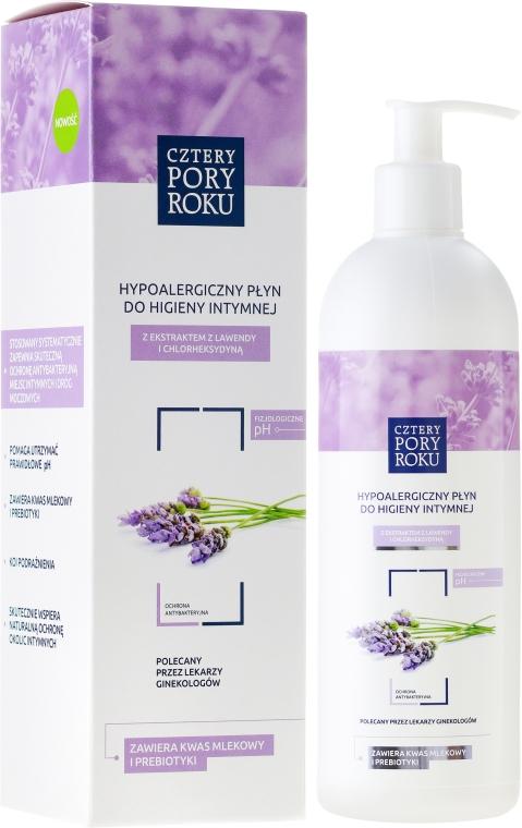 Intimpflegegel mt Lavendel - Cztery Pory Roku Lavender Intimate Hygiene Wash