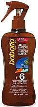 Düfte, Parfümerie und Kosmetik Sonnenschutzöl SPF 6 - Babaria Protective Sun Oil Spf6