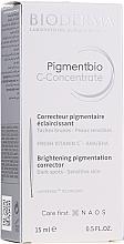 Düfte, Parfümerie und Kosmetik Aufhellendes Gesichtskonzentrat gegen Pigmentflecken - Bioderma Pigmentbio C Concentrate Brightening Pigmentation Corrector