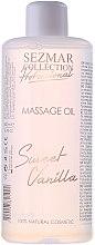 Düfte, Parfümerie und Kosmetik Massageöl Süße Vanille - Sezmar Collection Professional Massage Oil Sweet Vanilla