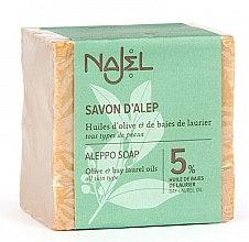 Düfte, Parfümerie und Kosmetik Parfümierte Körperseife - Najel Savon D'alep Aleppo Soap 5%