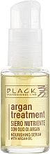 Düfte, Parfümerie und Kosmetik Nährendes Haarserum mit Arganöl - Black Professional Line Argan Treatment Serum