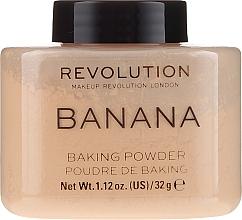 Düfte, Parfümerie und Kosmetik Bananen-Puder - Makeup Revolution Banana Baking Powder