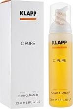 Düfte, Parfümerie und Kosmetik Gesichtsreinigungsschaum mit Vitamin C - Klapp C Pure Foam Cleanser