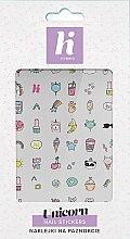 Düfte, Parfümerie und Kosmetik Nagelaufkleber - Hi Hybrid Unicorn Nail Stickers