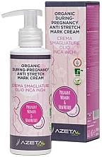 Düfte, Parfümerie und Kosmetik Körpermilch gegen Schwangerschaftsstreifen mit Inca-Inchi - Azeta Bio Organic During-Pregnancy Anti Stretch Mark Cream