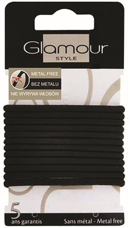 Haargummis 414687 schwarz - Glamour