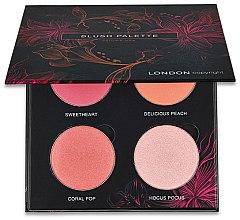 Düfte, Parfümerie und Kosmetik Rouge-Palette - London Copyright Magnetic Face Powder Blush Palette