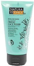 Düfte, Parfümerie und Kosmetik Gesichtswaschgel für empfindliche und Mischhaut mit Islandmoos - Natura Estonica Iceland Moss Face Wash