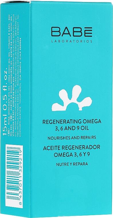Regeneriernedes und nährendes Muskatrosenöl für das Gesicht mit Omega 3, 6 und 9 - Babe Laboratorios Regenerating Rosa Moschata Oil — Bild N1