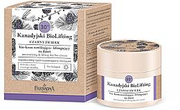 Düfte, Parfümerie und Kosmetik Bio Feuchtigkeitsspendende und straffende Tagescreme 30+ - Farmona Canadian BioLifting Black Spruce
