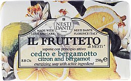 Düfte, Parfümerie und Kosmetik Naturseife Citrus & Bergamot - Nesti Dante Energizing & Refreshing Soap Il Frutteto Collection