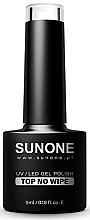 Düfte, Parfümerie und Kosmetik Hybrid-Gel Nagelüberlack ohne klebrige Schicht - Sunone UV/LED Gel Polish Top No Wipe