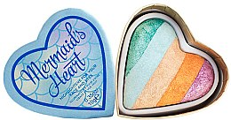Düfte, Parfümerie und Kosmetik Highlighter für Gesicht und Augen - Makeup Revolution I Heart Makeup Mermaid's Heart Highlighter