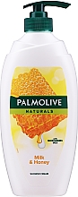 """Düfte, Parfümerie und Kosmetik Duschcreme """"Milch und Honig"""" - Palmolive Naturals Milk Honey Shower Gel (mit Spender)"""