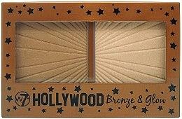 Düfte, Parfümerie und Kosmetik Bronzepuder & Highlighter - W7 Hollywood Bronze & Glow