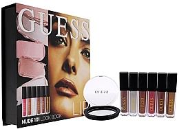 Düfte, Parfümerie und Kosmetik Make-up Set (Flüssiger Lippenstift 3x4ml + Lipgloss 3x4ml) - Guess Beauty Lip Lookbook 101 Nude
