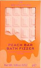 """Düfte, Parfümerie und Kosmetik Badebombe Pfirsich - I Heart Revolution Chocolate Bar Bath Fizzer """"Peach"""""""