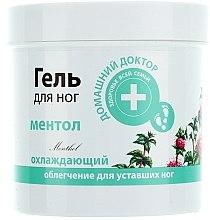 Düfte, Parfümerie und Kosmetik Kühlendes Fußgel mit Menthol - Hausarzt