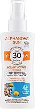 Düfte, Parfümerie und Kosmetik Sonnenschutzspray für Körper und Gesicht SPF 30 - Alphanova Sun Bio SPF30 Spray Voyage